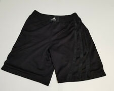 VTG Adidas Black Soccer Boxing Basketball Shorts Sz Medium Vintage Tre Foil 90s
