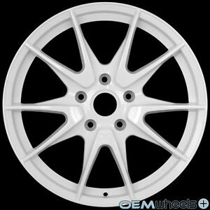 19 white wheels fits porsche 911 carrera gt1 gt2 gt3 rs turbo s 4 4s rims usa ebay. Black Bedroom Furniture Sets. Home Design Ideas