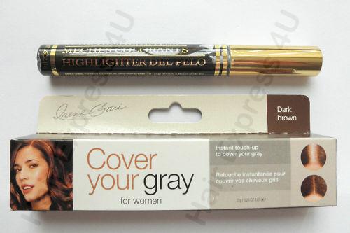 Irene Gari Cover Your Gray Hair Mascara - Dark Brown 7g