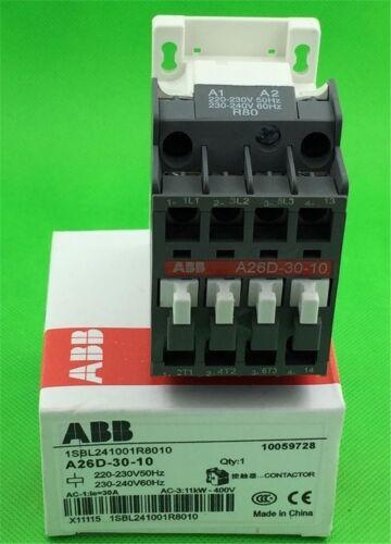 Abb Contactor A26D-30-10 220-230V New 1Pc cg