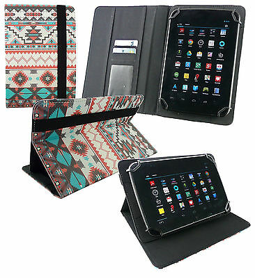 Universal Wallet Case Cover Stand fits Lenovo Tab3 8 4G LTE 8 Inch Tablet