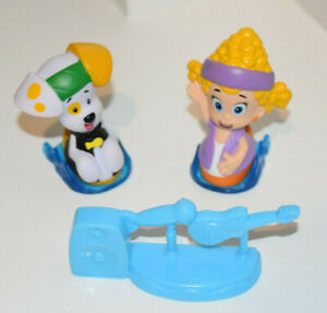 Details about Nerf B G Rock Roll Bubble Guppies Deema Puppy Playset Figures