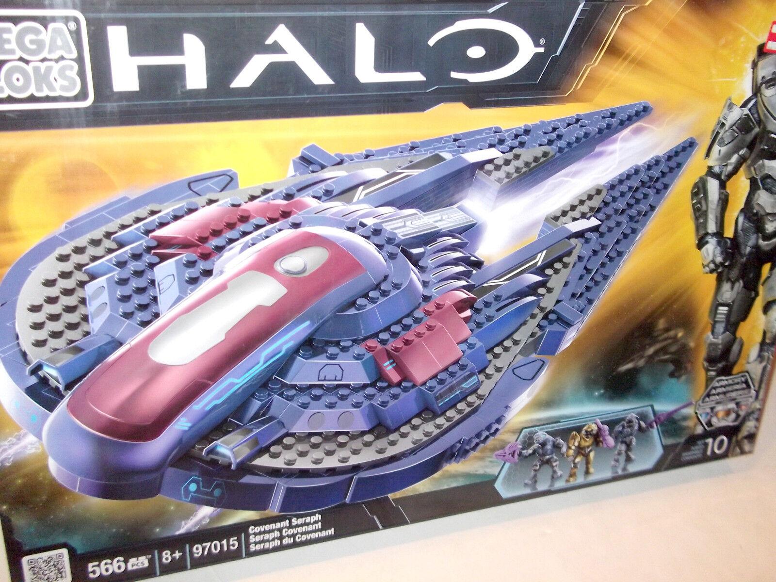 Mega Bloks Halo guerras Covenant  Seraph spazioship costruzione Set spazio Ship 97015 nuovo  scegli il tuo preferito