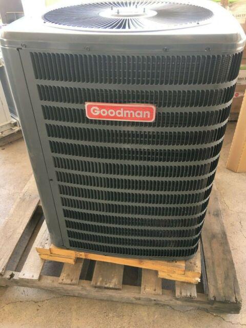 5 Ton Goodman R22 Heat Pump Condenser Gsh130601 For Sale Online Ebay