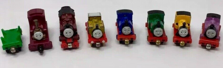 Thomas Tank Engine Train And Friends Lot Of 8 Die Cast Trains Preowned