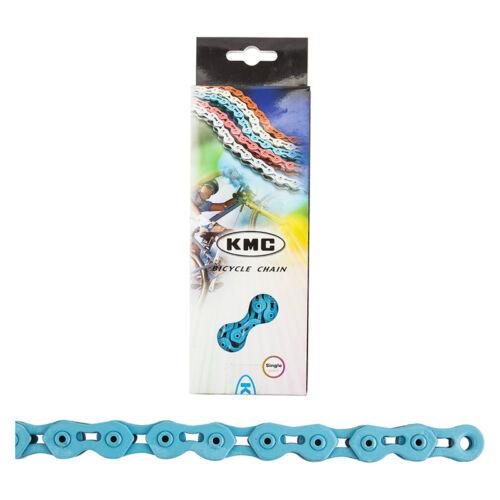 Kmc K710SL Chain Kmc 1//2x1//8 K710sl Sgl Spd Blu 100l
