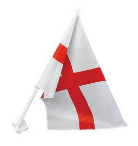 ANGLETERRE ST GEORGE LOCATION DRAPEAU 30X45CM, DÉCORATION DE PARTISANS, WORLD CUP FOOTBALL  </span>