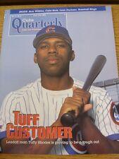 Jun-1994 programma: da baseball Chicago Cubs RIVISTA TRIMESTRALE-VOL 13 N. 02. Thi