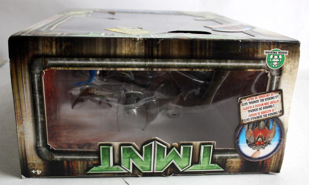 RARE 2007 TMNT MOVIE NINJA TURTLES LEO VS GENERAL GENERAL GENERAL GATO PLAYMATES NEW MISB d8b13b