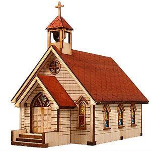 Ho Scale Church Building Kit