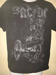 VINTAGE-AC-DC-FOR-THOSE-ABOUT-TO-ROCK-2005-MEDIUM-T-SHIRT-ROCK-METAL