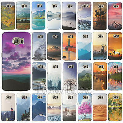 Nature Design Skin Soft Silica Gel Case Cover For Samsung Galaxy S4 S5 S6 Note4
