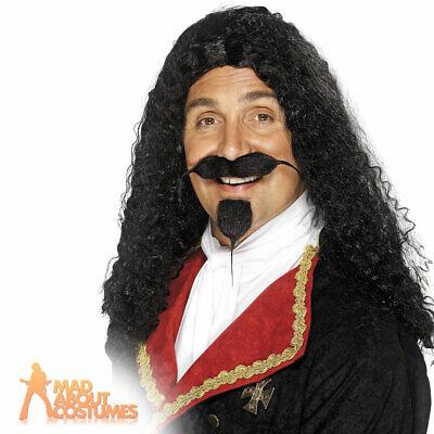 Black Moustache Cavalier Musketeer Medieval Fancy Dress