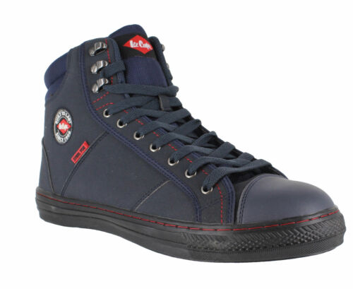 MENS LEE COOPER LEATHER SAFETY WORK BOOTS STEEL TOE CAP SHOES TRAINERS SIZE 3-12