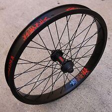STRANGER BMX BIKE CRUX V2 FRONT XL WHEEL BLACK PRIMO SUNDAY CULT ODYSSEY