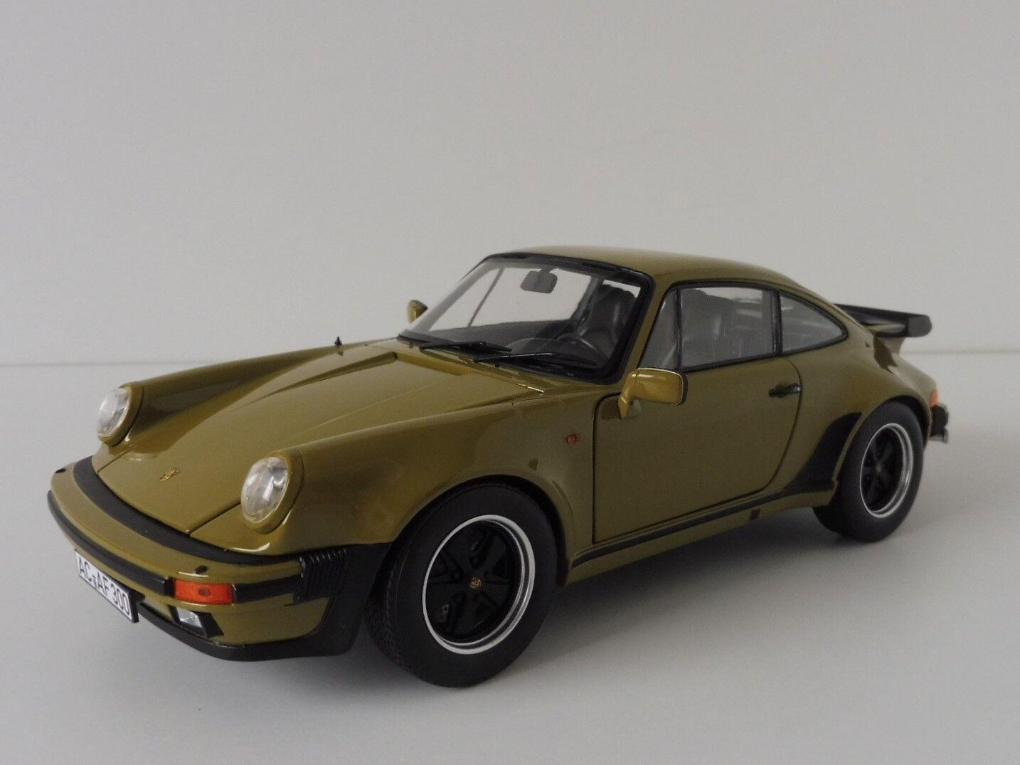 Porsche 911 Turbo 3.3 1977 olive 1 18 NOREV 187575 G-modèle 1963