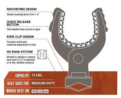 Kolpin ATV Products Grips Rhino KXP Ratcheting Plastic Black Pair 21542