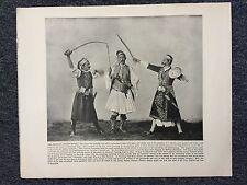 1893 Chicago World Exposition:Persian Sword Dance & Heroic... Reprint