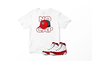 No-Cap-Graphic-T-Shirt-To-Match-Air-Jordan-Retro-9-Red-All-Sizes