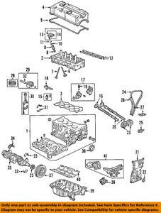 Acura Honda OEM 2002 RSX-Balancín 14620PNA010   eBay   Acura Rsx K20a2 Engine Diagram      visiontek.co.in