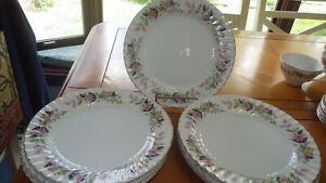 "Creative China Regency Bread Butter Dessert Plates 10 6.5"" plates item 2345 EUC"