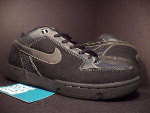 2003 Nike Dunk ZOOM AIR ANGUS SB ANTHRACITE GREY BLACK 307247-001 11