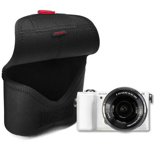 Canon G1X Neopreno Cámara Compacta Funda Bolsa Bolsa De Protección Elástico