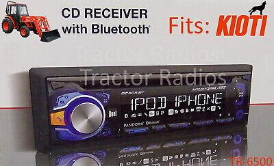 Kioti Tractor Plug /& Play Stereo Radio AM FM Bluetooth NX RX DK CK Series Cab