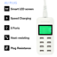 8-Port-Smart-AC-USB-Wall-Charger-LED-iPad-iPhone-Android-Tablet-5V-8A40W-AU-Plug