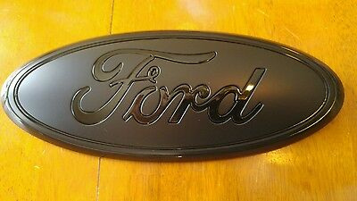 """2005-2014 Ford Emblem Front grill Ford Decal F150 Tailgate Emblem 9in 9/"""" X 3.5/"""" for Truck /& SUV Dark Blue Dark Blue"""