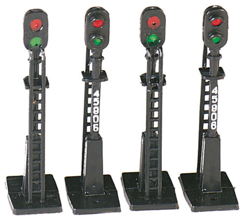 Bachmann Trains H O Block Signals pack of 4 42101
