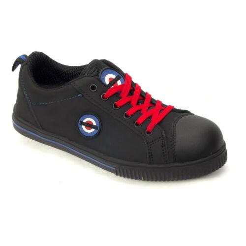 Lambretta Safety Steel Toe Cap Plimsoll Style Shoe DB002 Boot Trainers Pumps