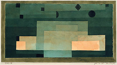 Paul Klee The Vase Giclee Canvas Print Paintings Poster Reproduction Copy