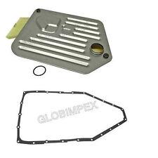 BMW E31 E32 E34 E38 E39 Transmission Filter Kit+ Pan Gasket FEBI + Warranty