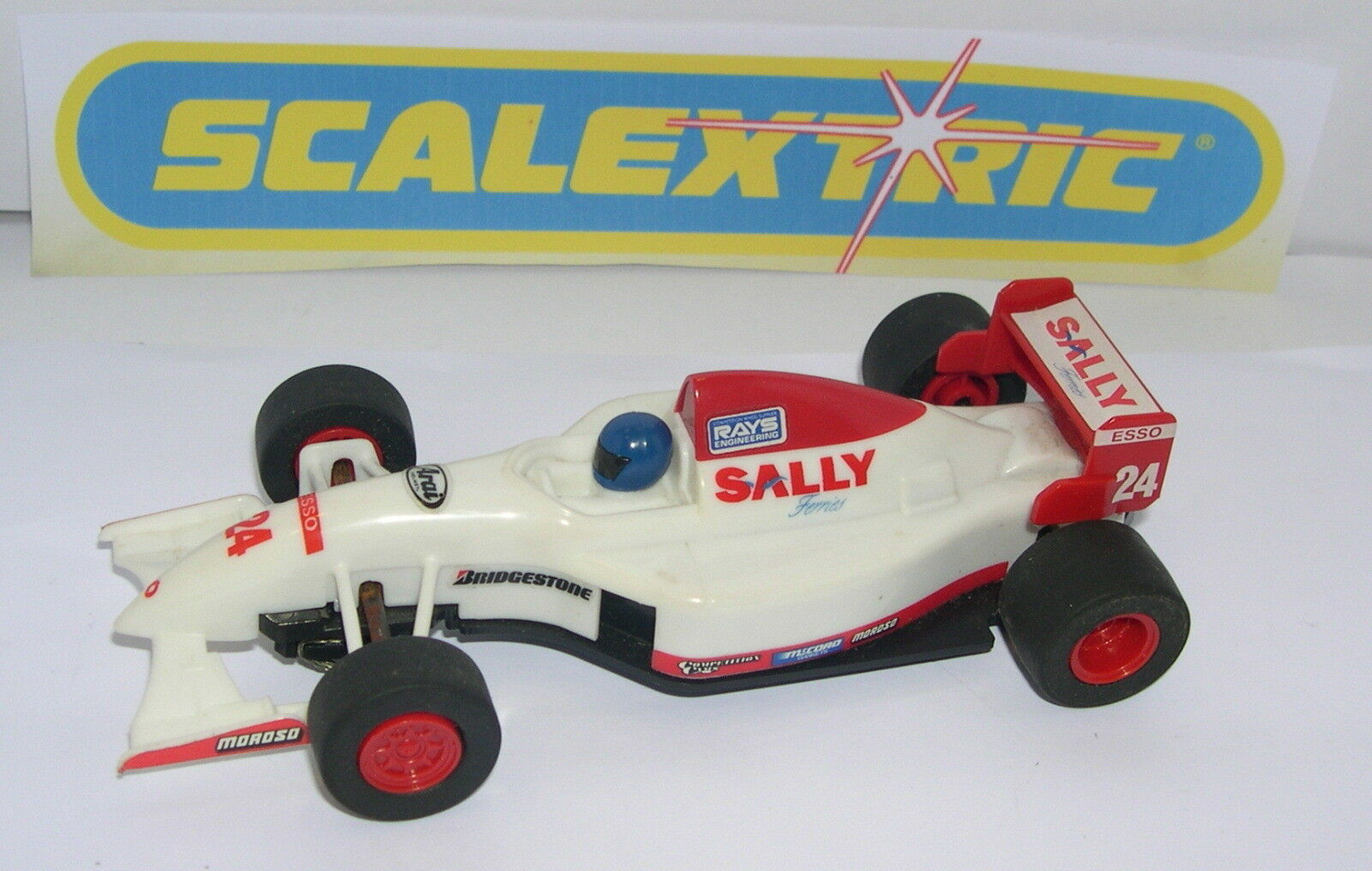 SCALEXTRIC C-693  TEAM SALLY FERRIES    24     ONLY SET C-653   MINT UNBOXED