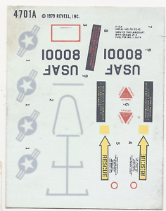 Revell-ERROR-Variant-Decal-Sheet-4701A-1-48-F-16A-actually-4305-1980-87931