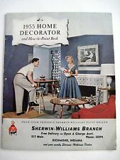 """Vintage 1955 """"Home Decorator"""" Booklet for Sherwin-Williams w/ Lots of Pictures *"""