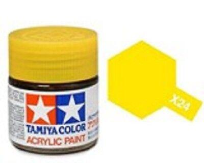 TAMIYA COLORI ACRILICI PER PLASTICA X26 CLEAR ORANGE FOR PLASTIC