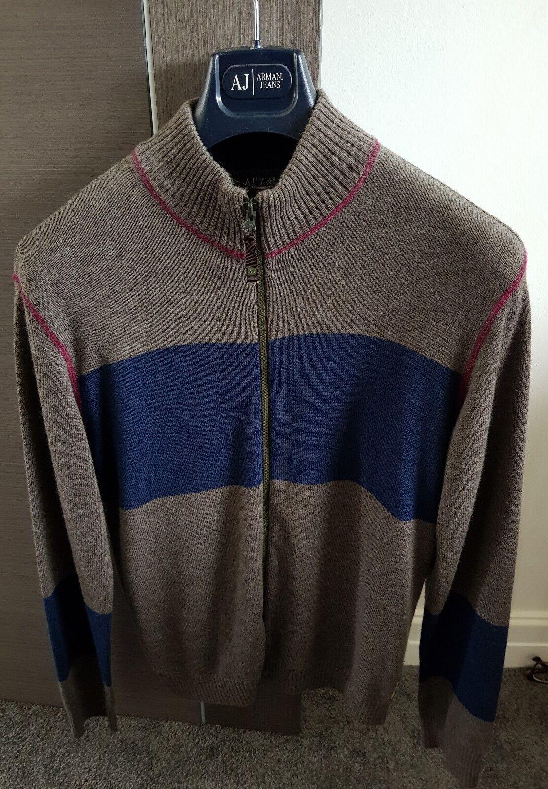 Armani Jeans mens knitwear - medium
