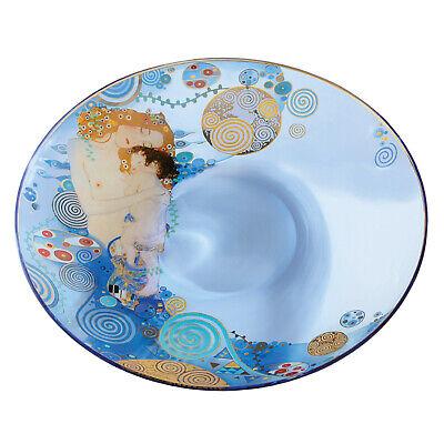 """GOEBEL PORZELLAN Gustav Klimt /""""Der Kuss/"""" Glasschale Stiftablage 666993866"""