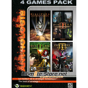 Disciples-Anthologie-4-Games-Pack-PC-Neuf-sous-Blister