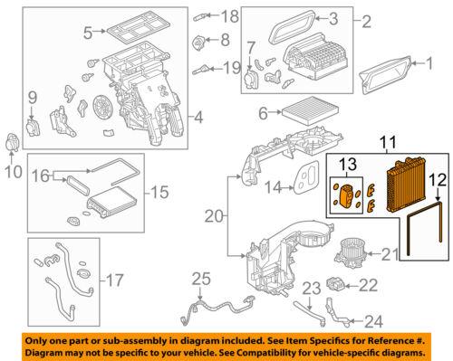 Buick GM OEM 16-18 Cascada-A//C AC Evaporator Core 39151298