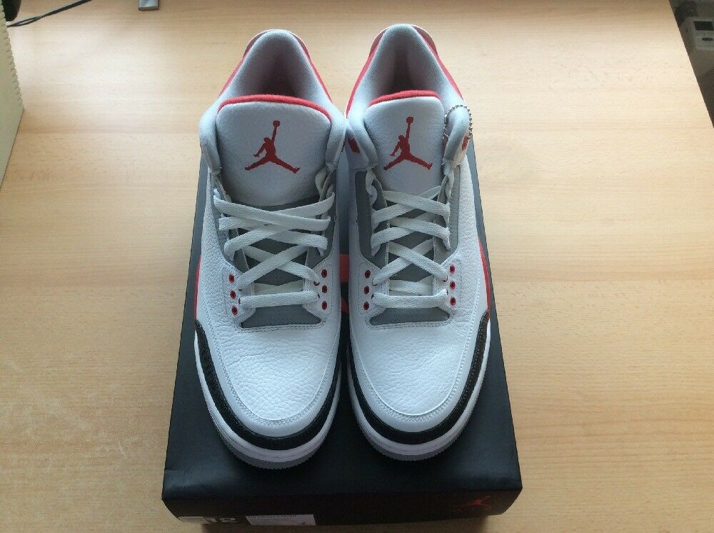 Nike Air Jordan 3 Fire Red US12 EU46 Neu 2013 2013 2013 aba873