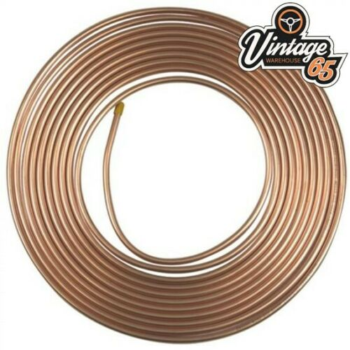 1//4 25 FT KUNIFER COPPER NICKEL BS RATED FUEL BRAKE PIPE *FAST DISPATCH* 25 FEET