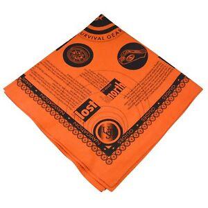 Ultimate-Survival-Technologies-Survival-Bandana-Orange-Kerchief-w-Survival-Tips