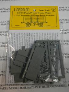 6/_ Plank Wagon Short Plastic Kit OO Gauge Cambrian C49 Glos 15ft.