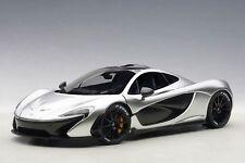 1:18 AUTOart MCLAREN P1 (MATT CHROME) 2013 (COMPOSITE MODEL/FULL OPENINGS)