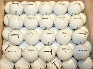 3 Dozen (36) Titleist Tour Soft Golf Balls AAAA - AAAAA Near Mint to MINT