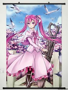 Home Decor Anime Akame ga KILL Wall Scroll Poster Fabric Painting Mine 40*60cm