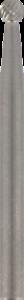 Frese Dremel 9905 3,2 mm punta sferica al carburo di tungsteno per sagomare